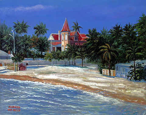 Southernmost House at Beach