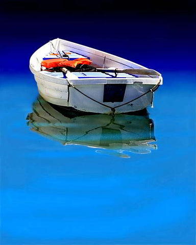 92 - Reflection of Rowboat