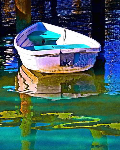 17 - Rowboat Reflection