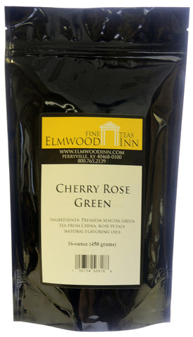 Cherry Rose Green Tea