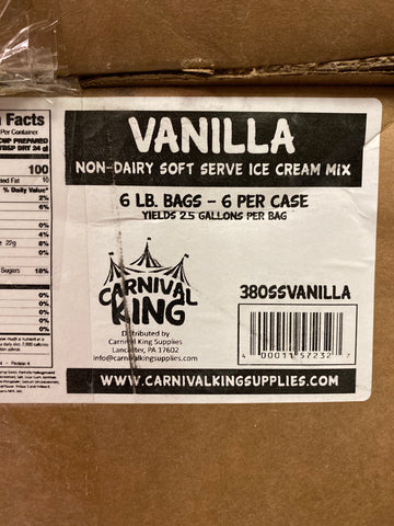Ice Cream Cap Base - 3 bags (half case)