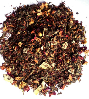 ROSY SKIN BEAUTY TEA | Rose petals, cinnamon and rooibos tea | Mama Tea