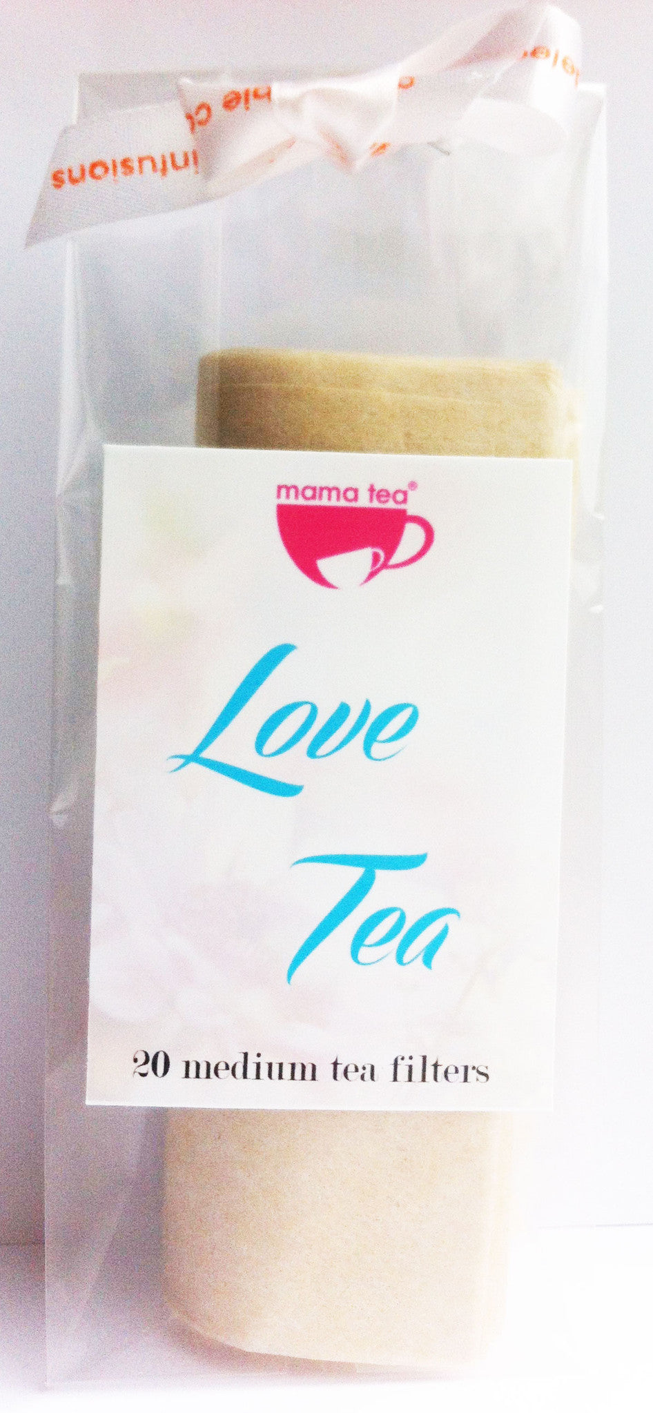 LOVE TEA | tea filters by Mama Tea