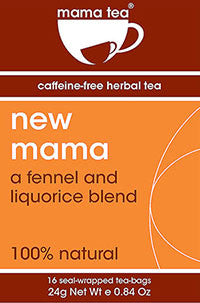 New Mama | Breastfeeding Tea |liquorice and fennel well being herbal tea