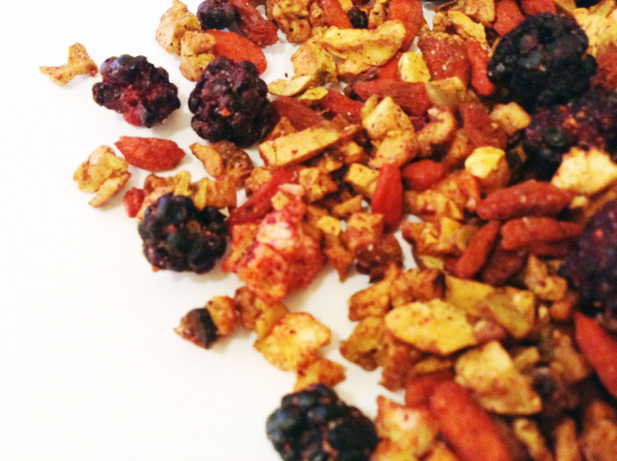 GOJI GODDESS -  loose leaf gojiberry fruit tea - Mama Tea Well Being Teas