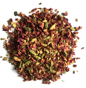 INNER BALANCE DETOX TEA - loose leaf ginger, cinnamon and liquorice herbal tea by Mama Tea Well Being Teas