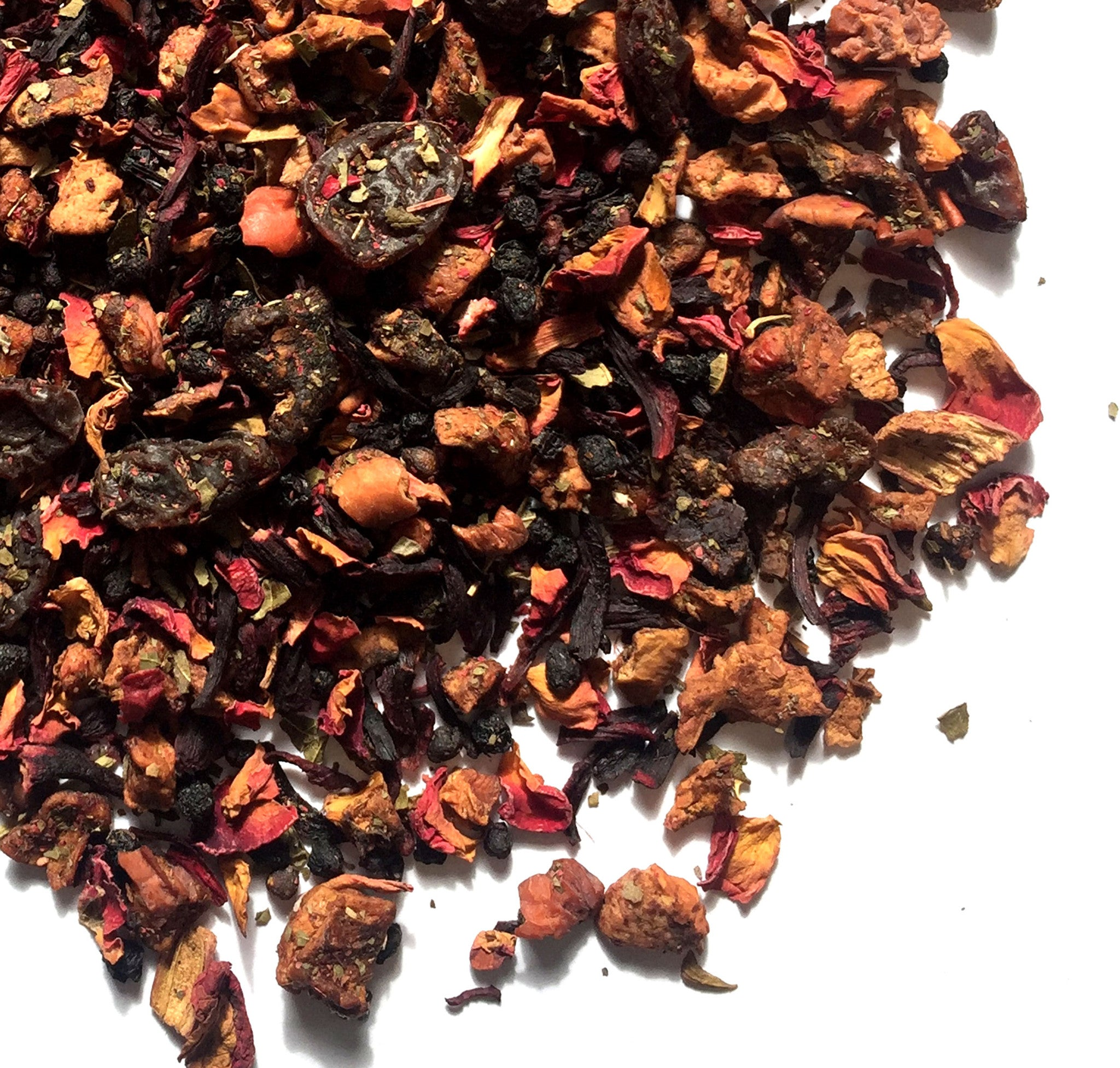 SKINNY GODDESS DETOX TEA - rhubarb, apple and berry detox tea