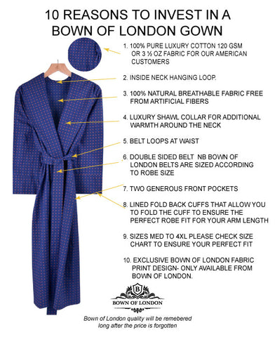 10 Reasons to buy bown dressing gown pacific robe