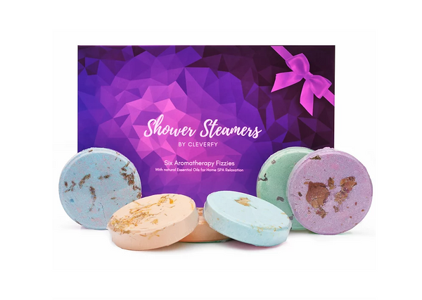 bOX OF SHOWER STEAMERS