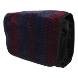 Mens Arbroath Wash Bag - Navy/Red
