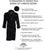 Women's Dressing Gown - Duchess Navy