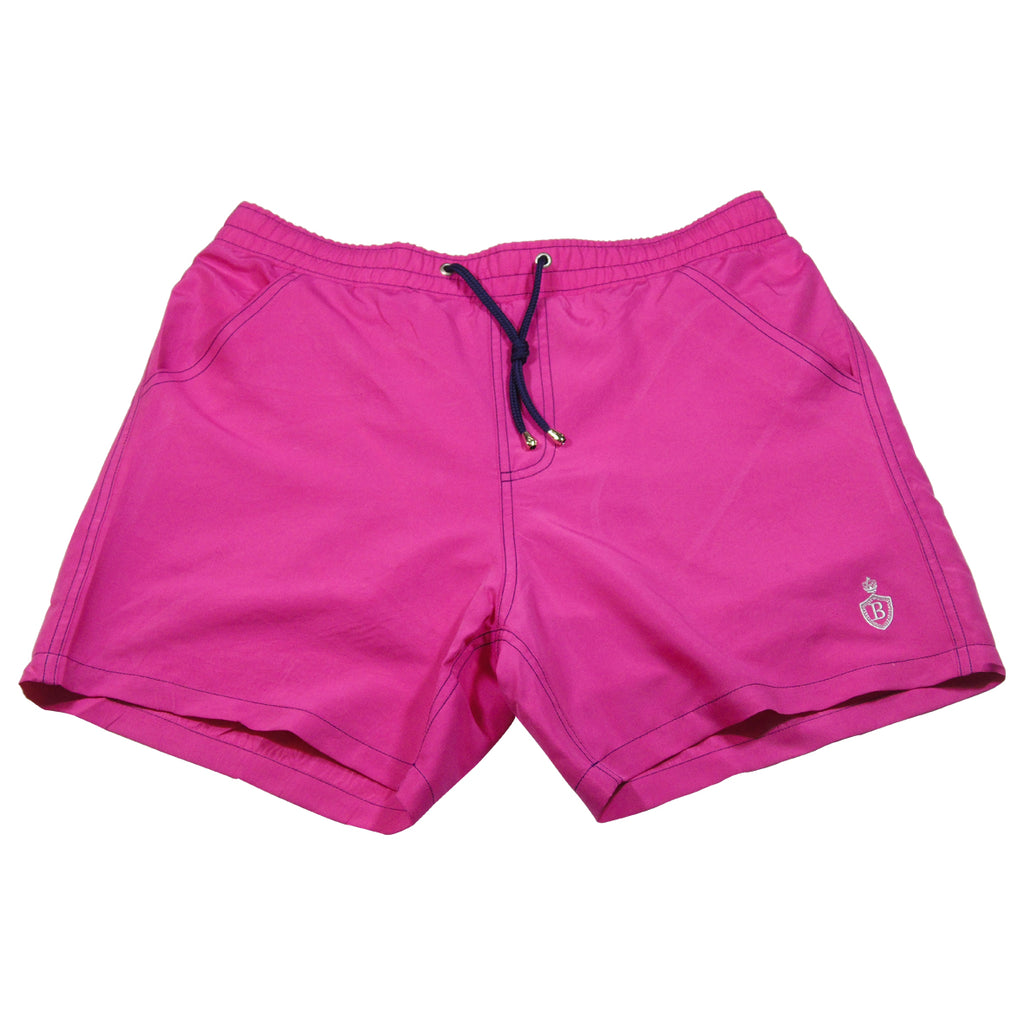 Pink Men's Swimming Trunks