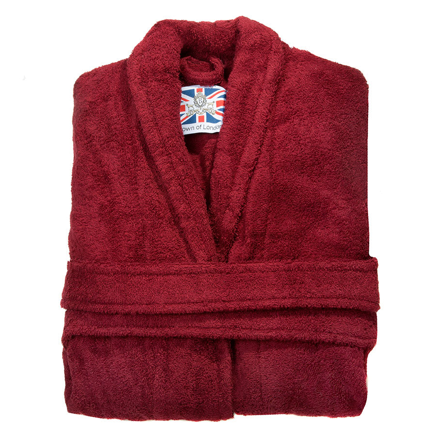 Folded Heavyweight Toweling Dressing Gown | Bown of London