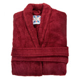 Women's Heavyweight Dressing Gown - Burgundy
