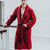 Burgundy Men's Dressing Gown | Bown of London