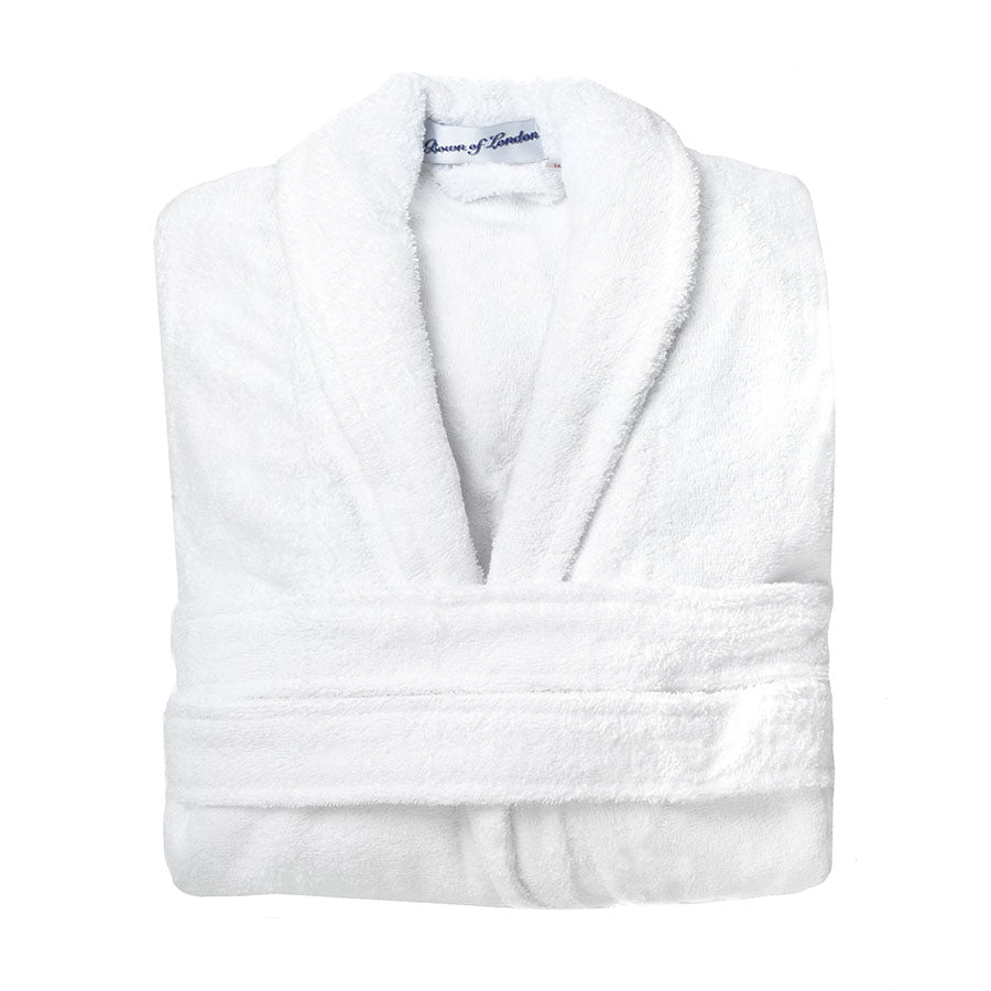 Luxury Heavyweight Women's Toweling White| Bown of London