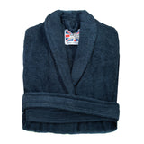 Women's Heavyweight Dressing Gown - Navy