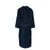Back of Luxury Heavyweight Toweling Navy Gown | Bown of London