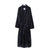 Navy Coloured Cotton Designer Dressing Gown | Bown of London