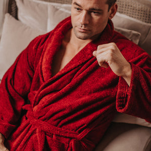 Luxury Heavyweight Toweling Bathrobe | Bown of London