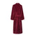 Back of Burgundy Women's Dressing Gown | Bown of London
