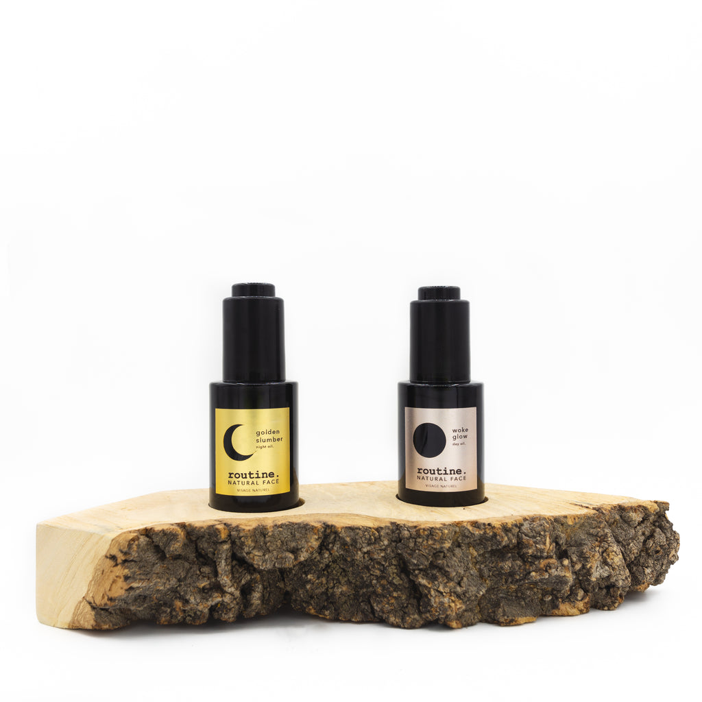Natural Face Oil Showcase Board