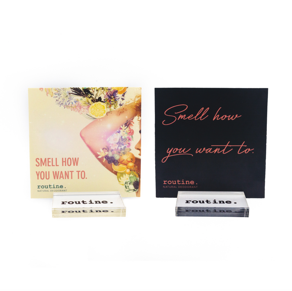 Shelf Talker's & Take-away's