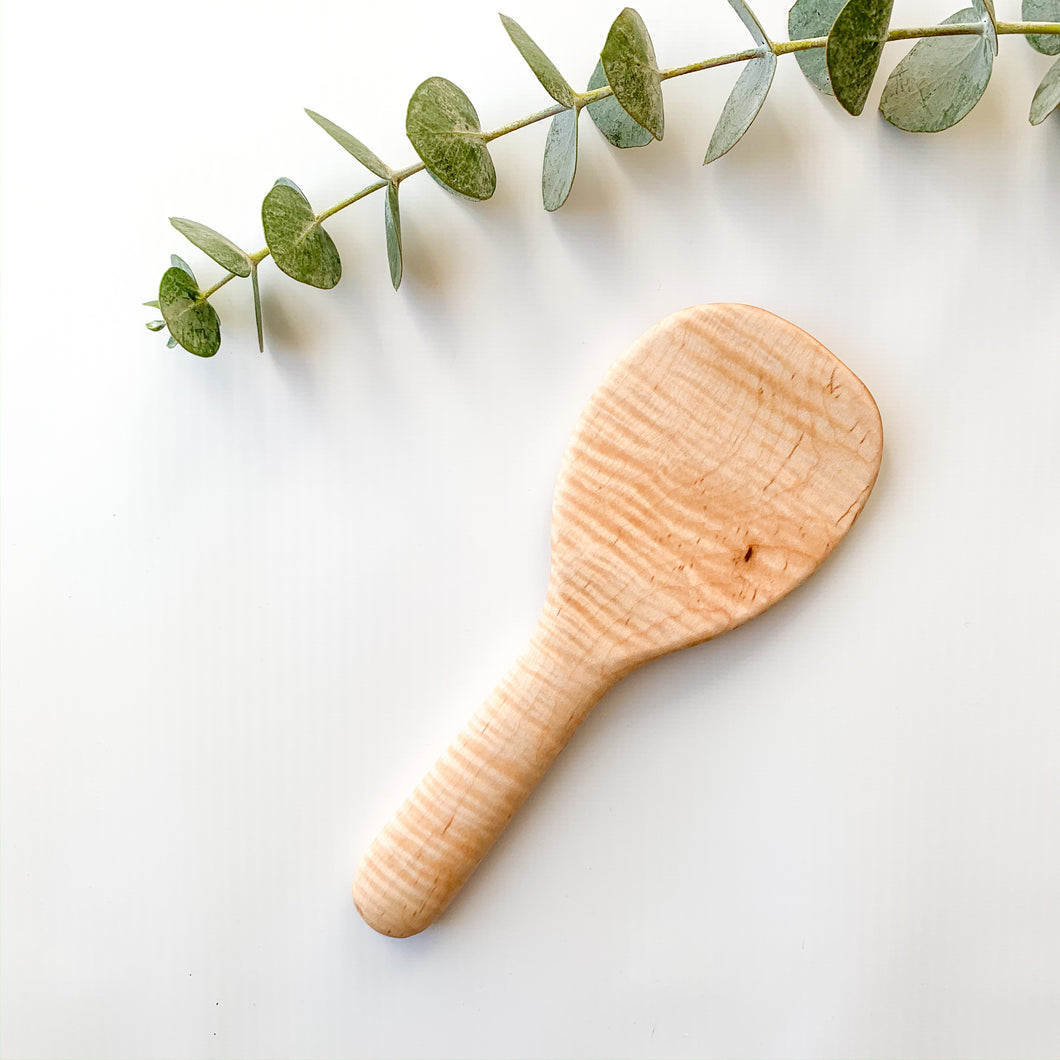 Curly Maple Rice Paddle