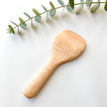 Load image into Gallery viewer, Curly Maple Rice Paddle
