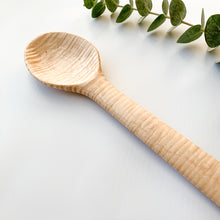 Load image into Gallery viewer, Curly Maple Big Spoon
