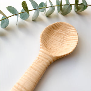 Curly Maple Big Spoon
