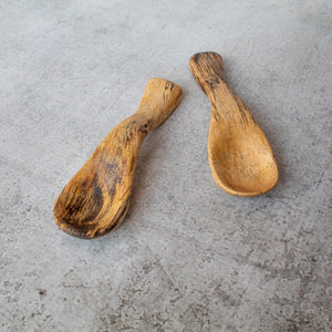 Spalted Tamarind Small Scoop