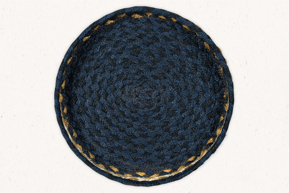 Load image into Gallery viewer, Mustard Blue - Trivet Set