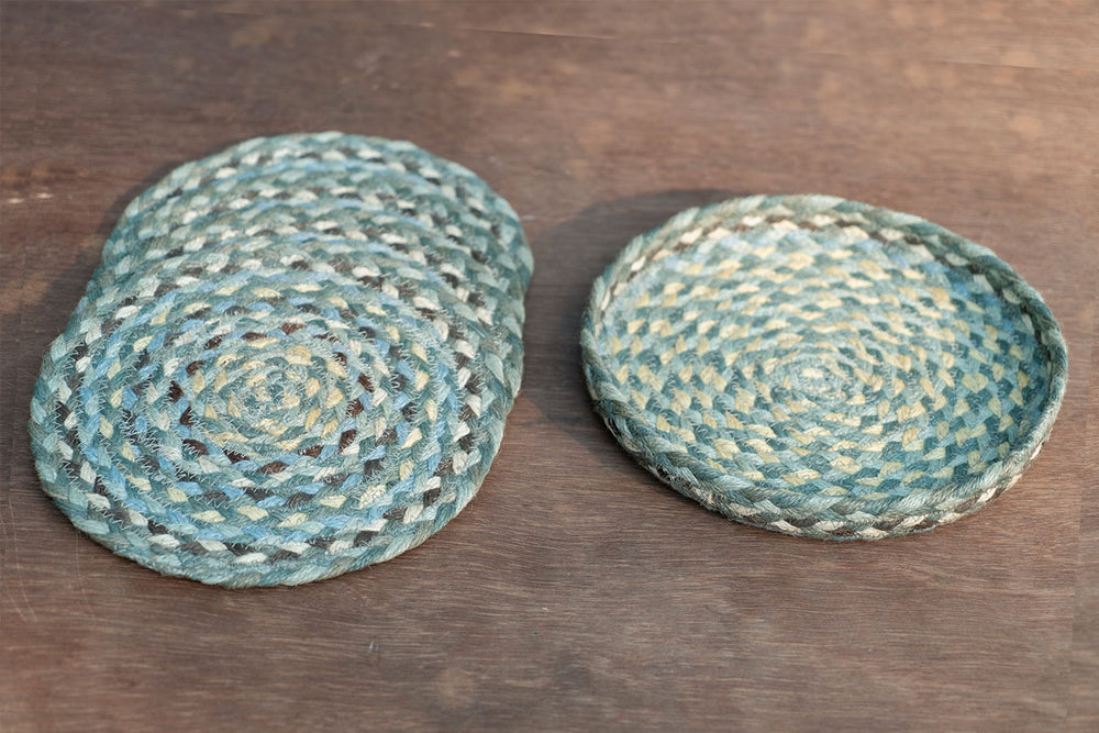 Minty Blue - Trivet Set