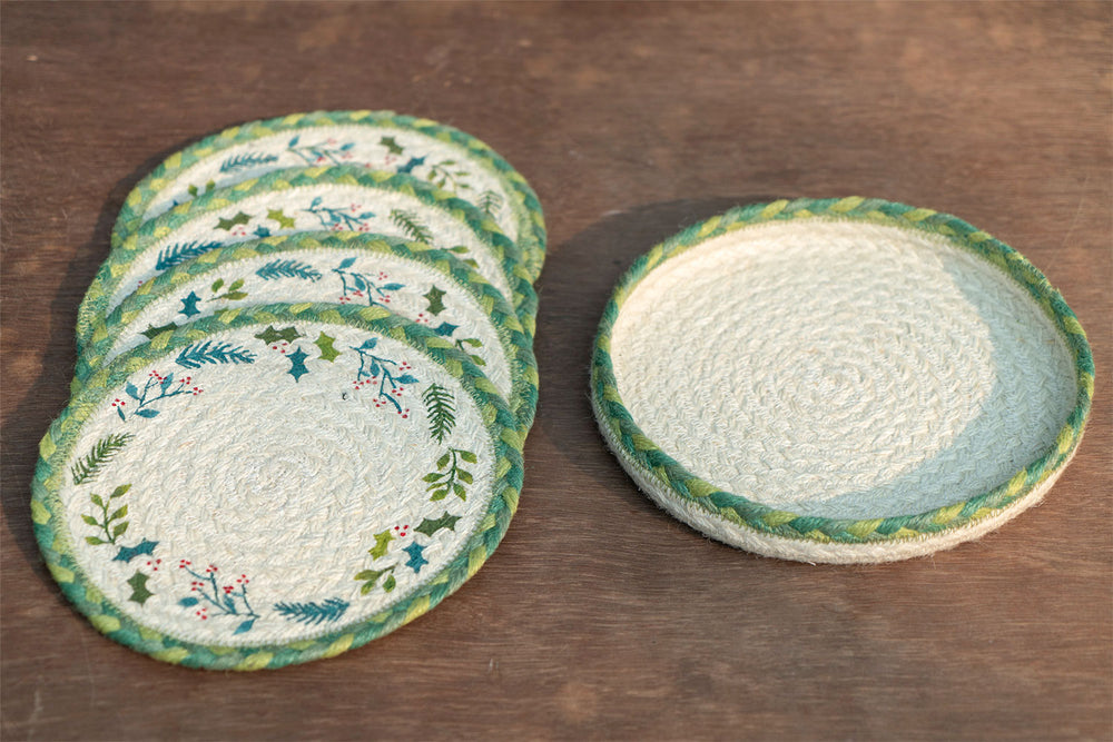 Mistletoe - Trivet Set