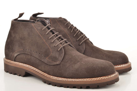 John Baker's Ankle Boot 17946 Veloursleder braun (brown)
