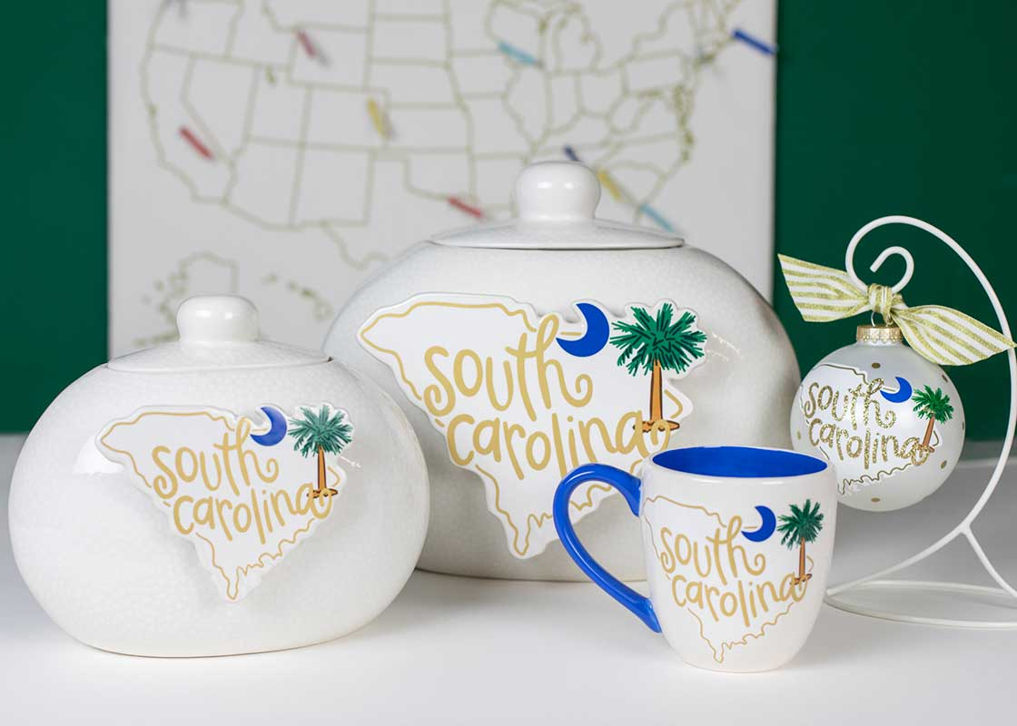 South Carolina Motif Big Attachment