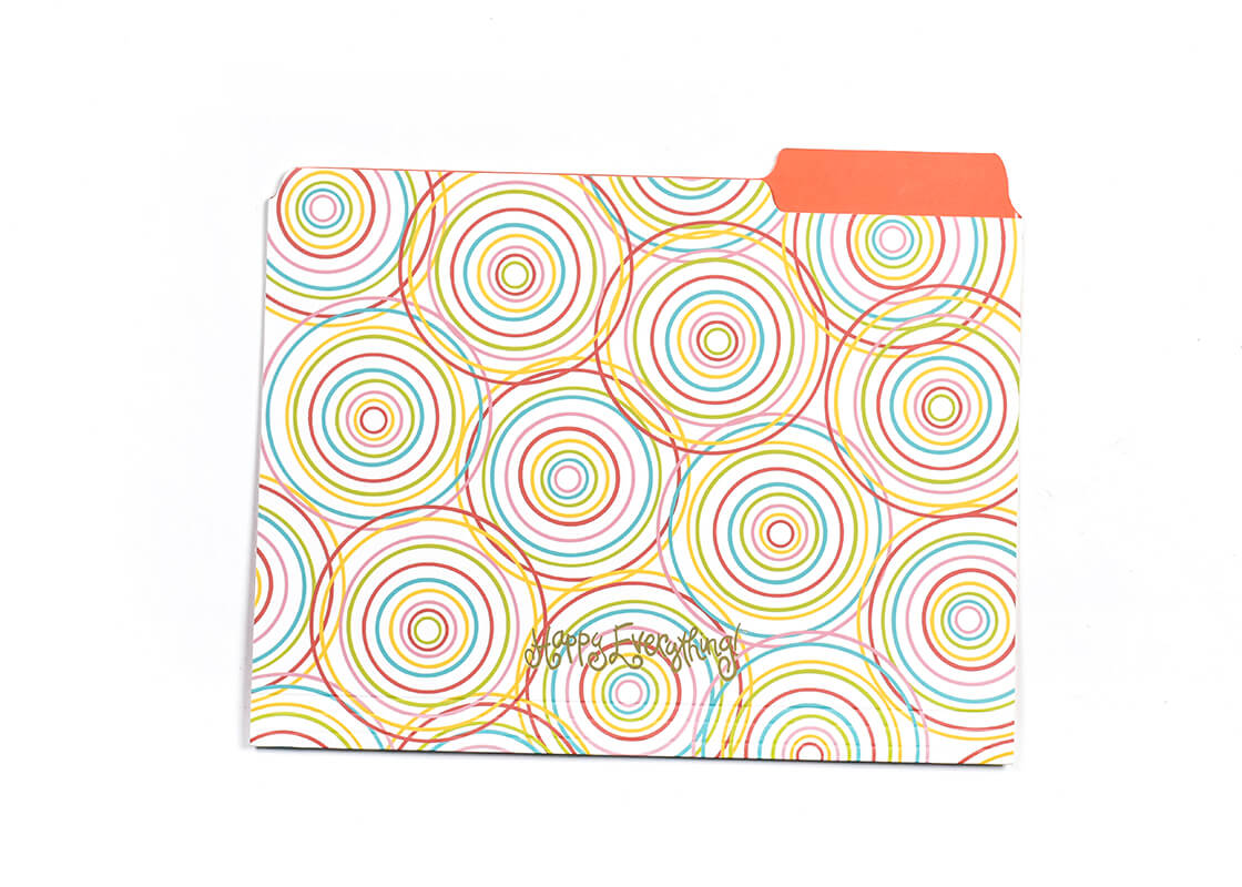 Multi Hypno Happy Everything! File Folder - Set of 6
