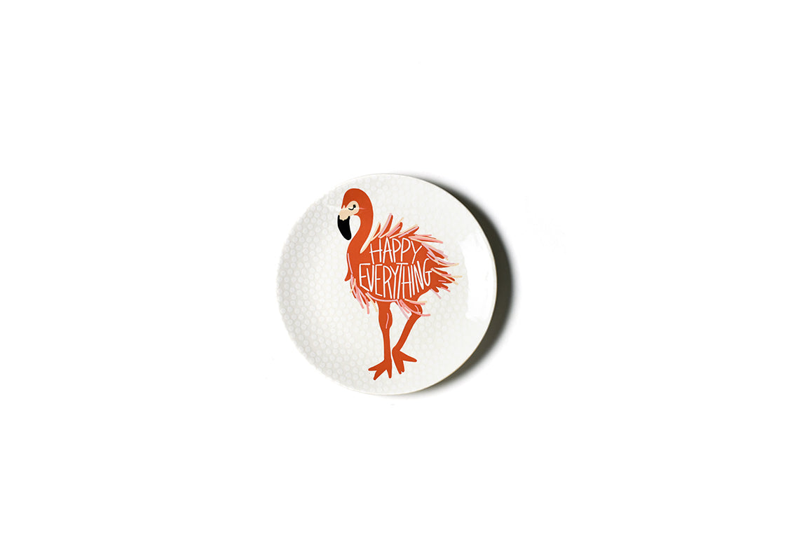 Flamingo Salad Plate