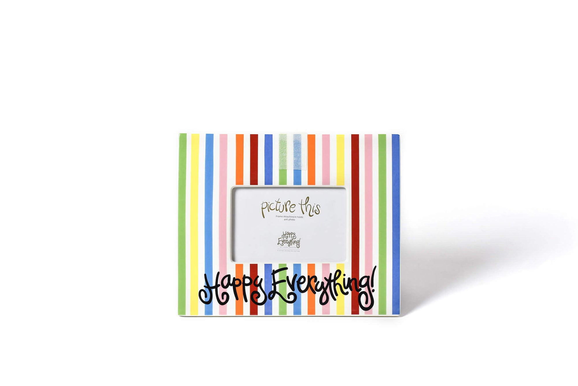 Bright Stripe Mini Happy Everything! Frame