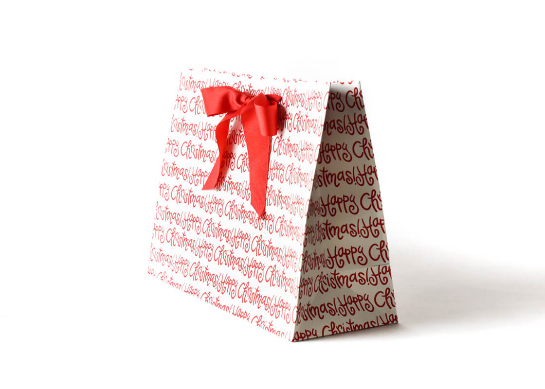Large Happy Christmas Gift Bag
