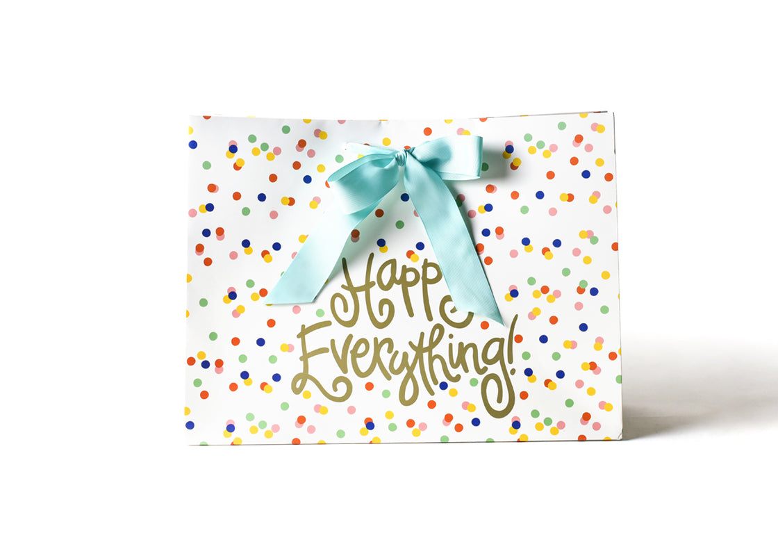 Large Happy Dot Happy Everything! Gift Bag