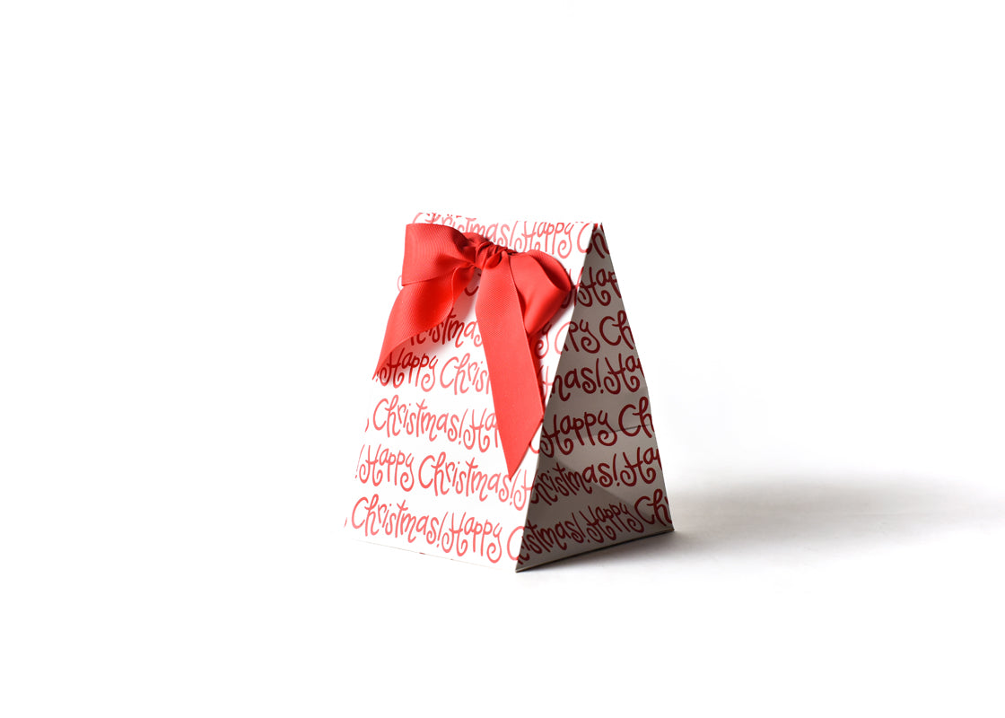 Small Happy Christmas Gift Bag