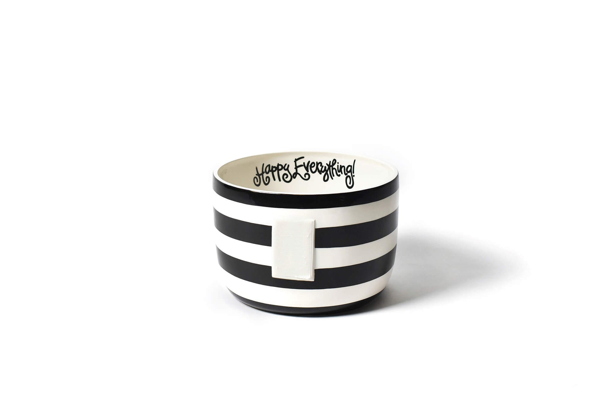 Black Stripe Big Happy Everything! Bowl