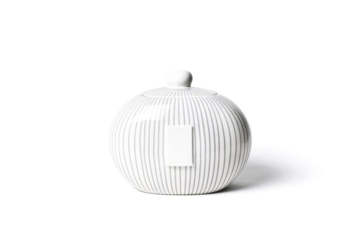 Stone Skinny Stripe Big Cookie Jar
