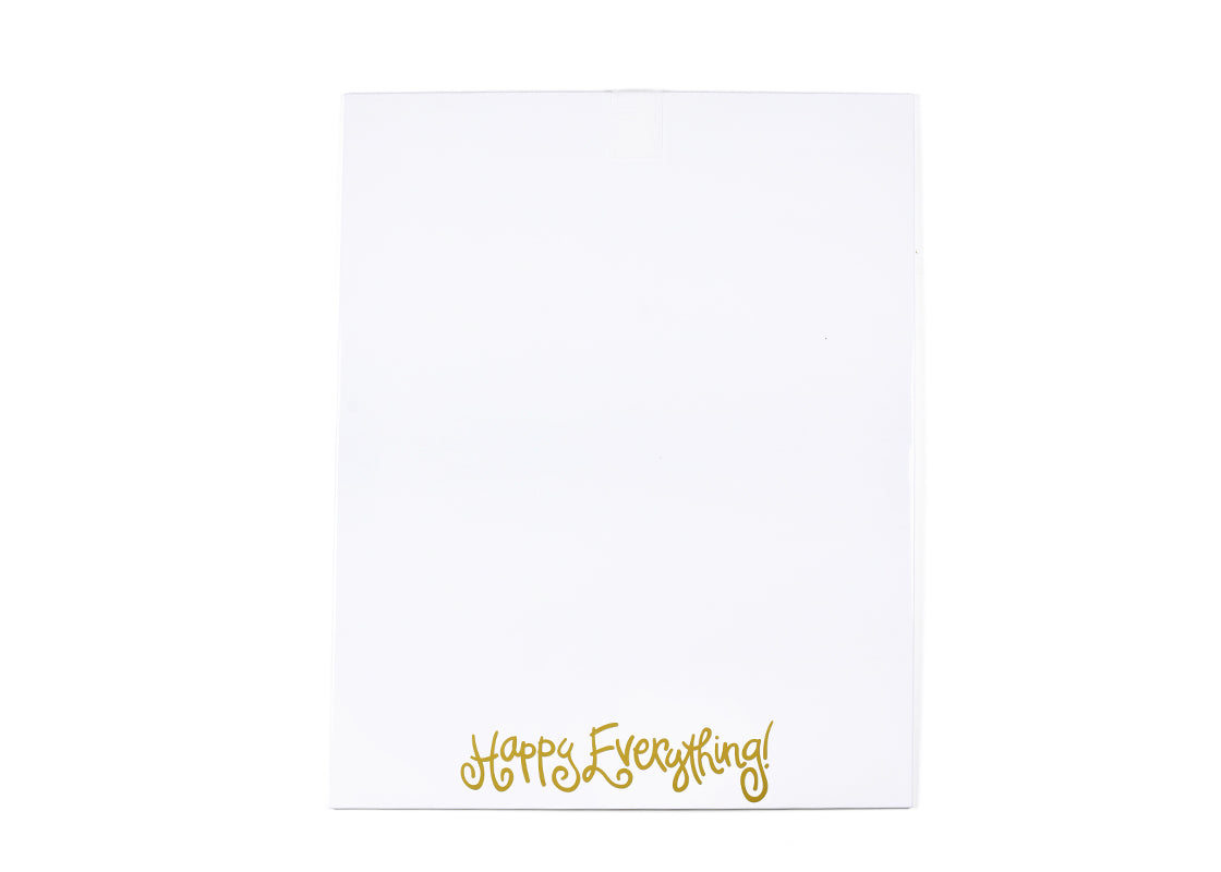 Happy Everything! Dry Erase Magnetic Message Board