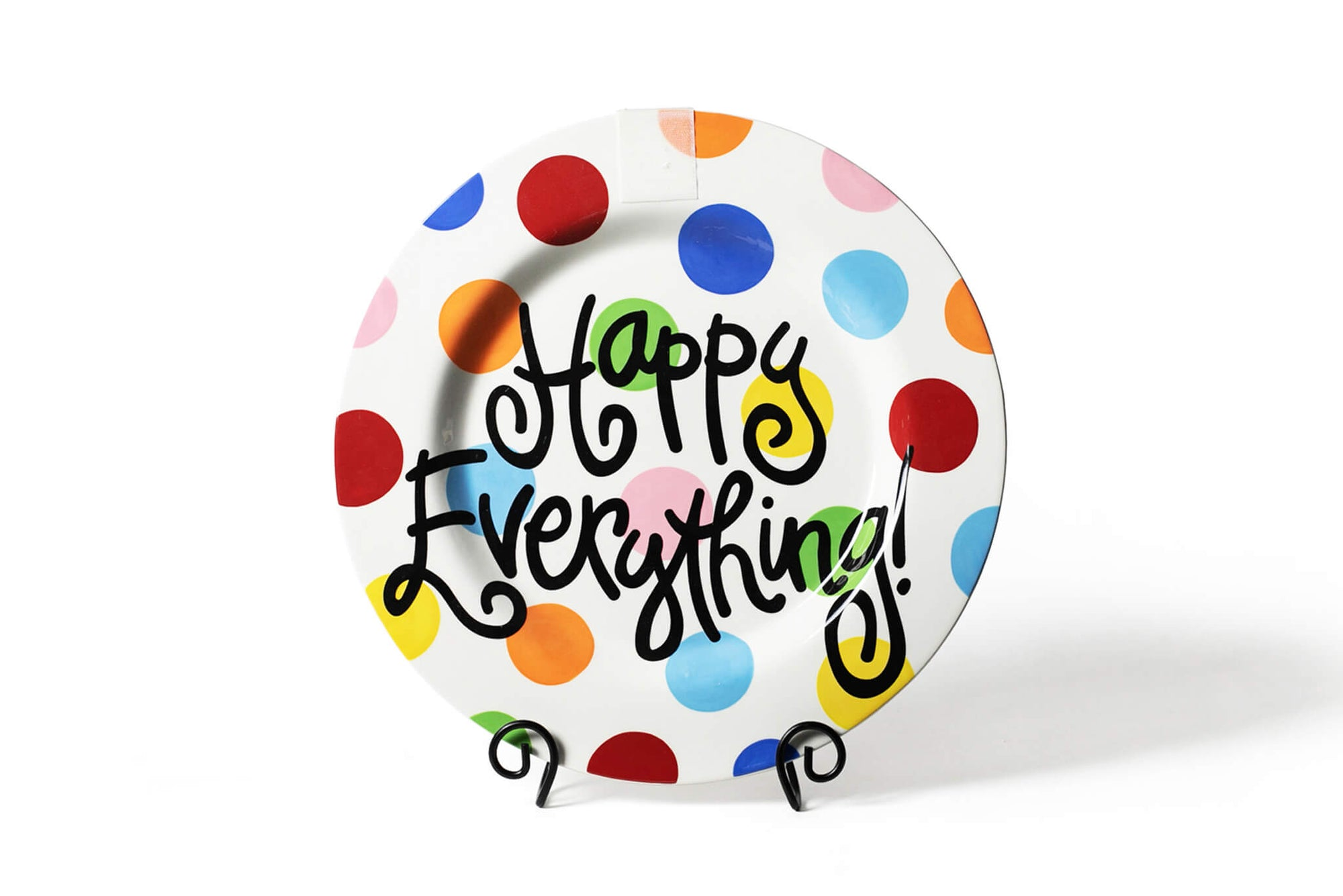 Bright Dot Big Happy Everything! Round Platter