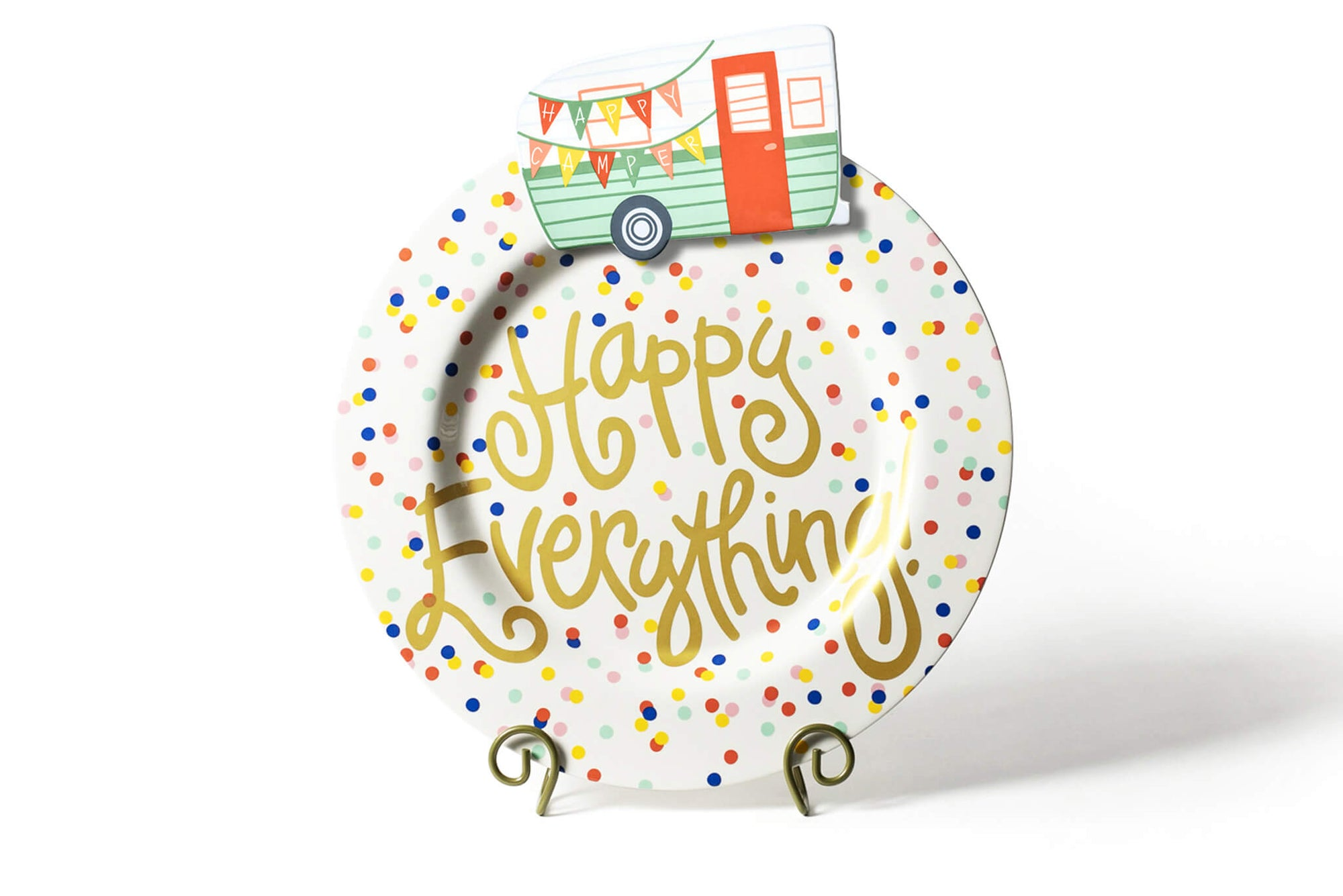 Happy Dot Big Happy Everything! Round Platter