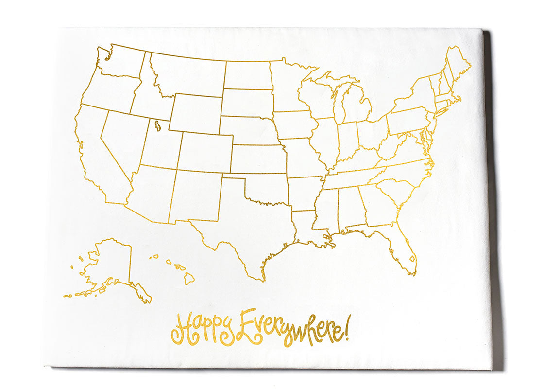 Happy Everywhere US Map