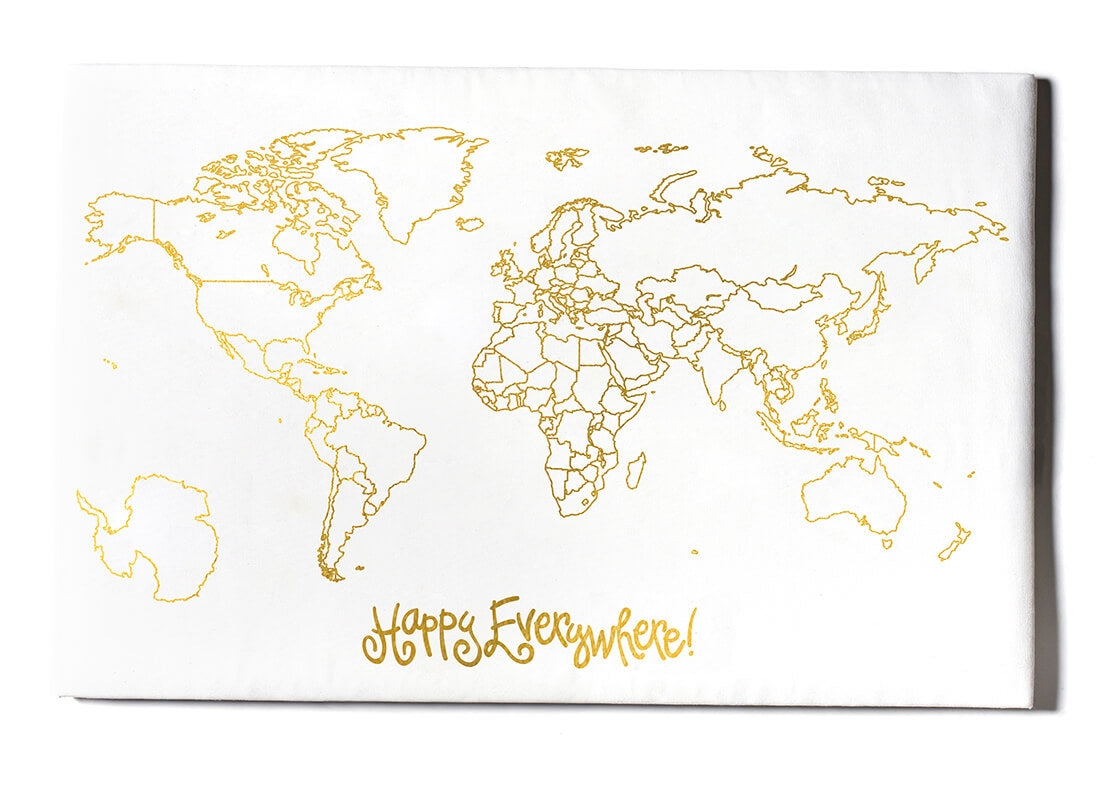 Happy Everywhere World Map